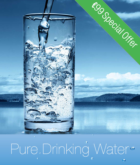 pure drinking water for your home using WTS Dangan water filter