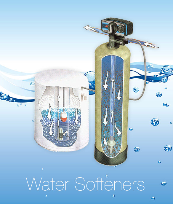 get pure drinking water by using a water softener system