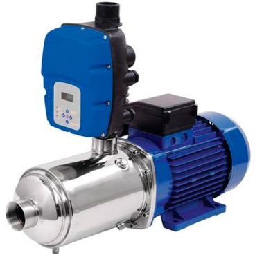 A pressure booster pump can be used to increase the pressure of the water coming into the house